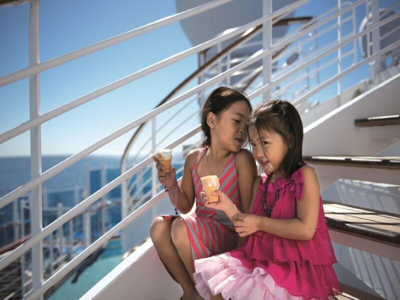 Familien Kreuzfahrten Princess Cruises Kinder