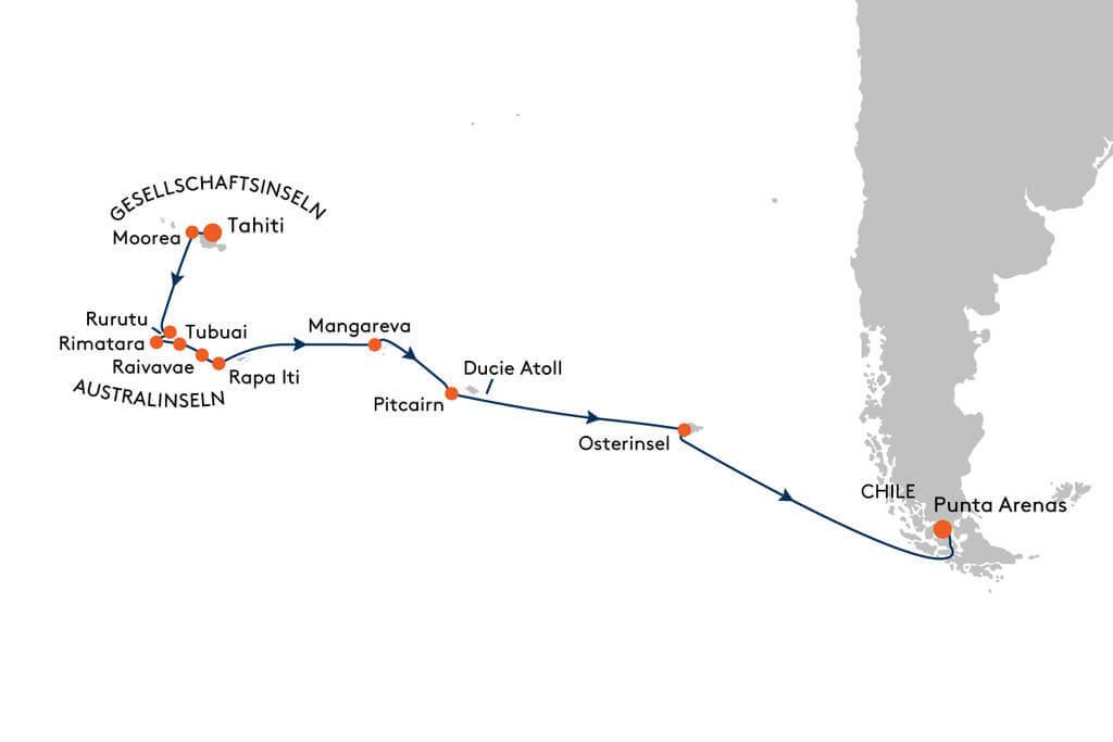 Südsee Pazifik