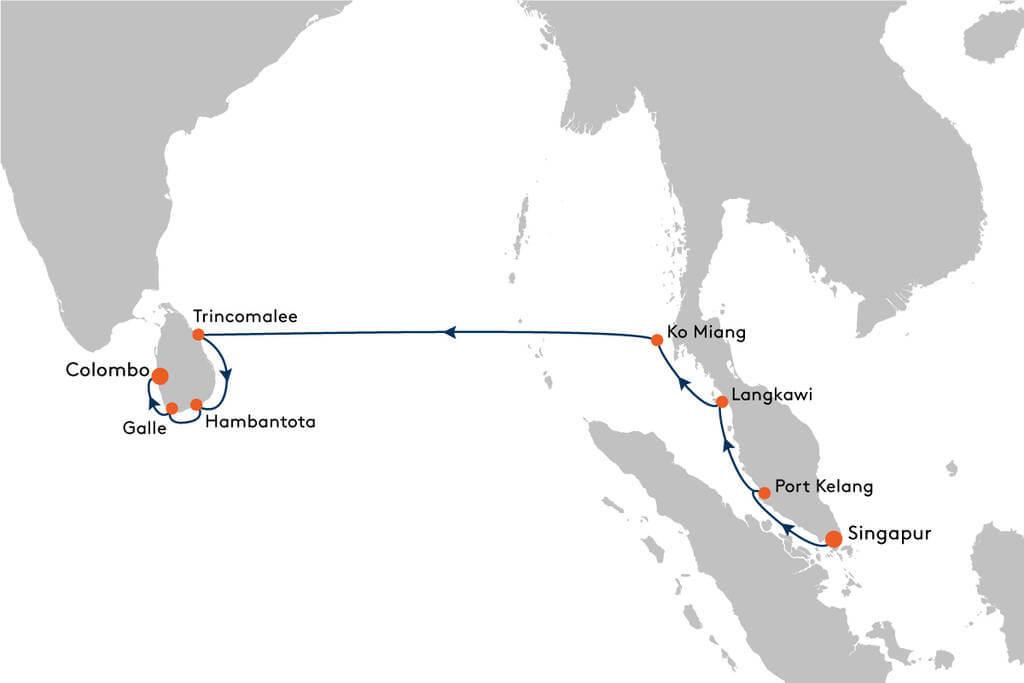Fernost / Südostasien Kreuzfahrten