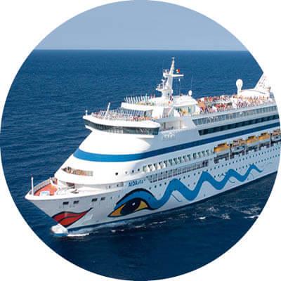AIDAvita auf dem Meer
