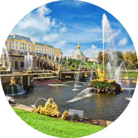 MSC Ostsee St.Petersburg Schloss