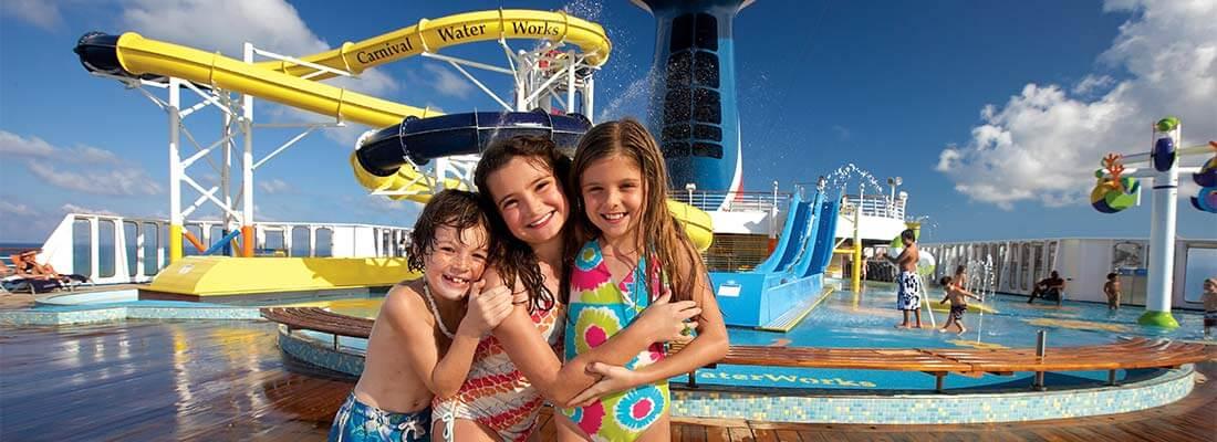 Carnival Familien Kinder Waterworks