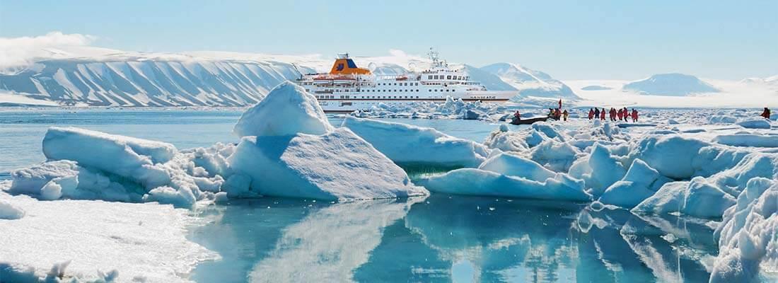 Expeditionen Hapag Lloyd Hanseatic Arktis