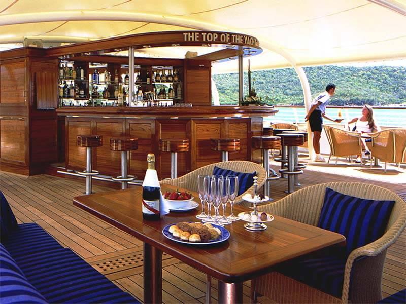 Reedereien Kreuzfahrten SeaDream Yacht Club