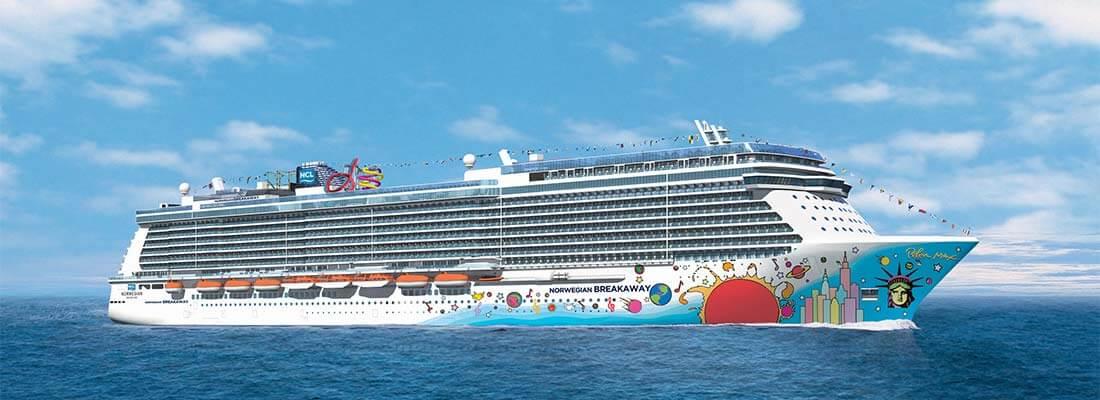 Kreuzfahrten Reedereien Norwegian Cruise Line NCL Breakaway