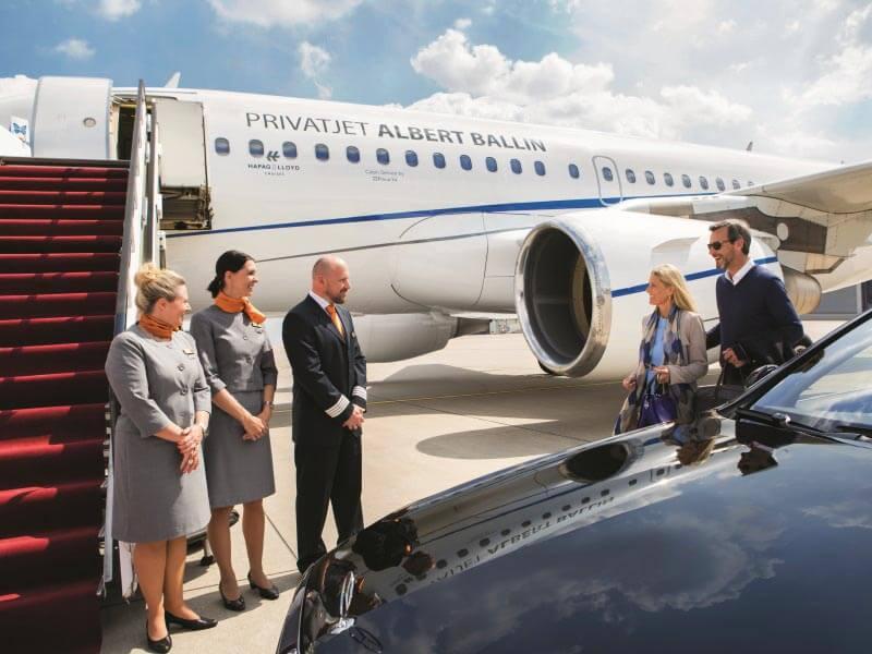 Weitere Reiseideen Kreuzflüge im Privatjet Albert Ballin