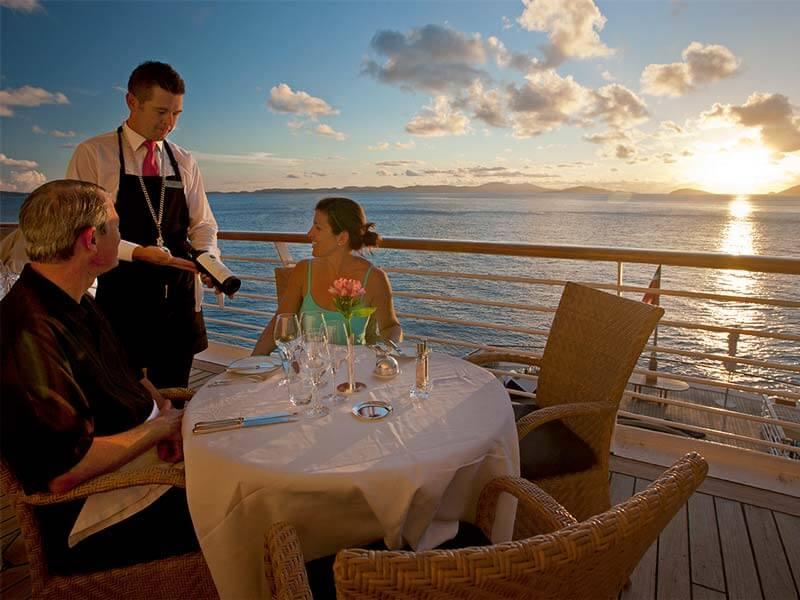 All inclusive Kreuzfahrten SeaDream Yacht Club