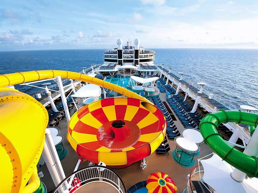 Familien Kreuzfahrten Norwegian Cruise Line NCL Epic Plunge