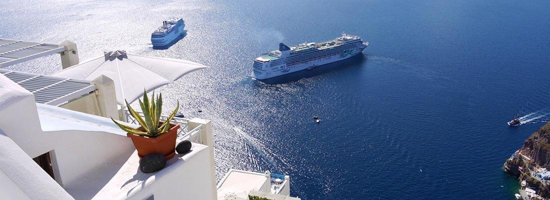 Kreuzfahrten Reedereien MSC Santorini