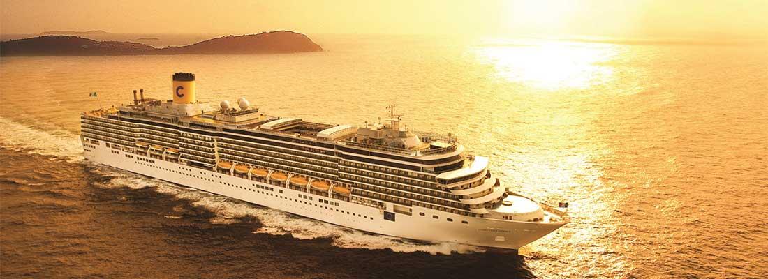 Reedereien Costa Kreuzfahrten Deliziosa Sunset