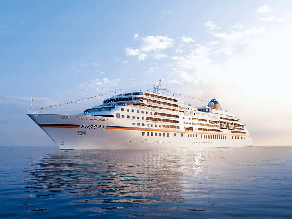 Reedereien Kreuzfahrten Hapag-Lloyd Cruises Europa