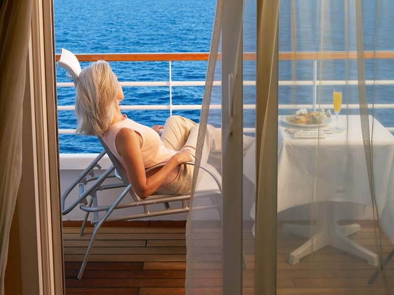 All inclusive Kreuzfahrten Crystal Cruises Verandah