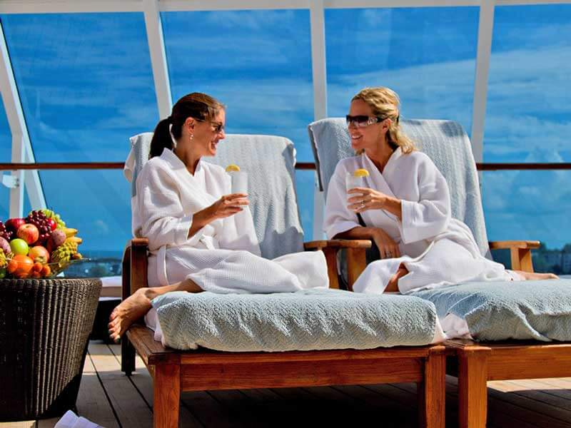 Reedereien Kreuzfahrten Azamara Club Cruises Wellness