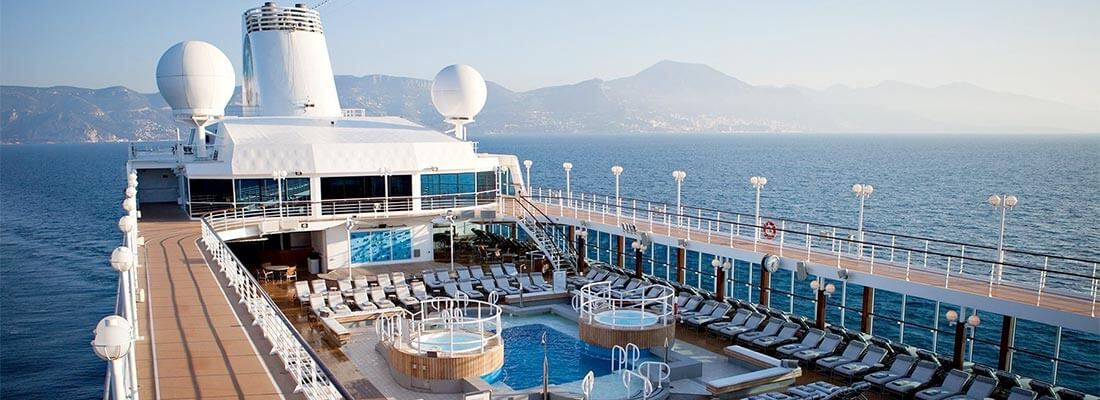 Azamara Club Cruises Deck