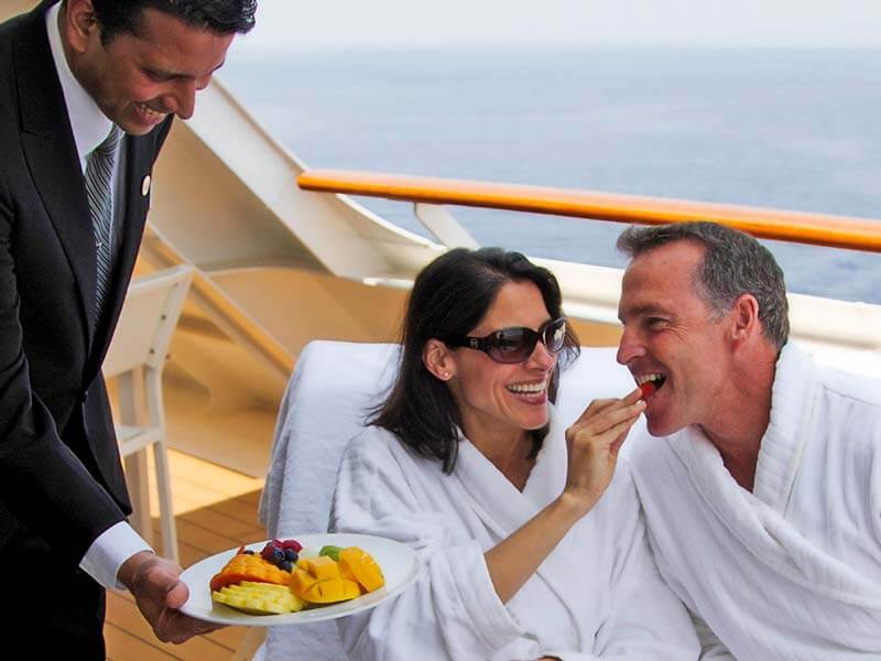 All inclusive Kreuzfahrten Azamara Club Cruises Butler