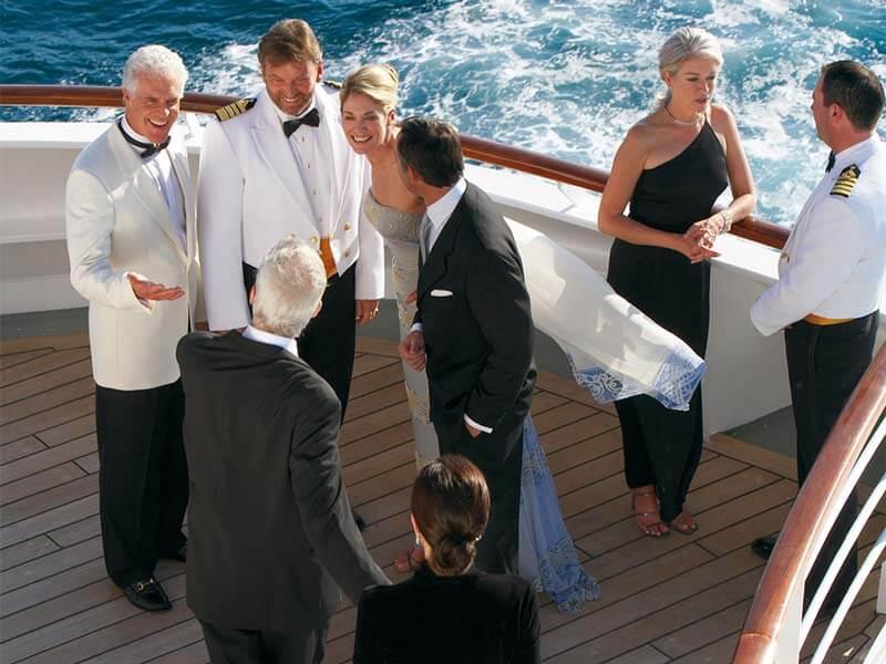 All inclusive Kreuzfahrten Crystal Cruises Deck