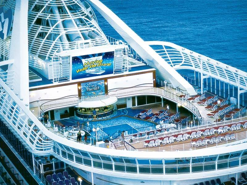 Familien Kreuzfahrten Princess Cruises Kino