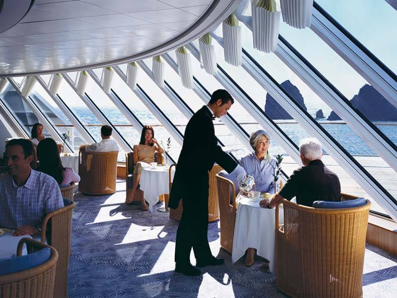 All inclusive Kreuzfahrten Crystal Cruises Restaurant