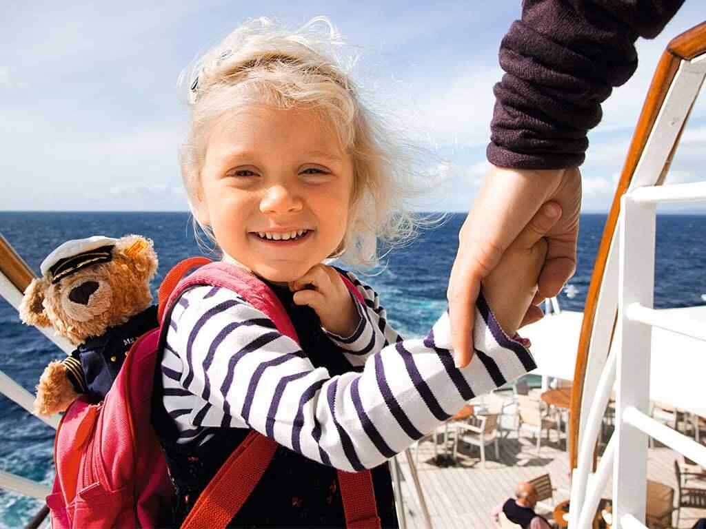 Familien Kreuzfahrten Hapag-Lloyd Cruises Kinder