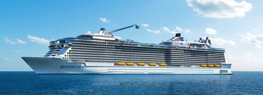 Kreuzfahrten Familien Royal Caribbean International Quantum of the Seas aussen