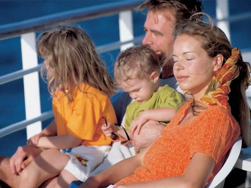 Familien Kreuzfahrten AIDA Reeling