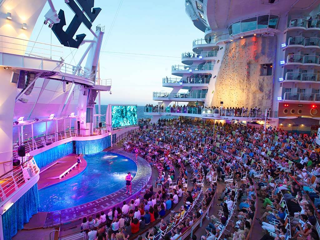 Familien Kreuzfahrten Royal Caribbean International Oasis of the Seas