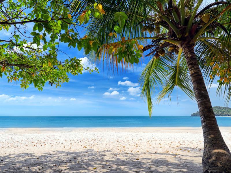 Karibik Inseln Winter ...