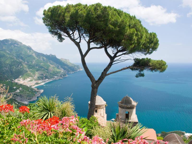 Mittelmeer mit Salerno...